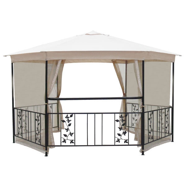 The Range Majestic 4m Hexagonal Patio Gazebo Replacement Canopy