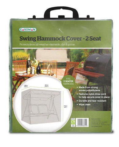 Lightweight Protective Hammock/Swing Seat Cover