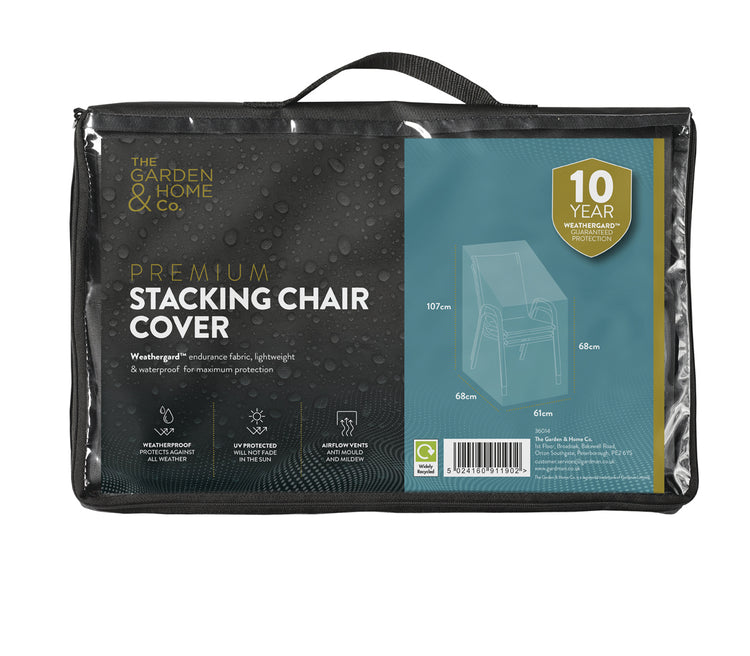 Premium Stacking Chair All Weather Cover