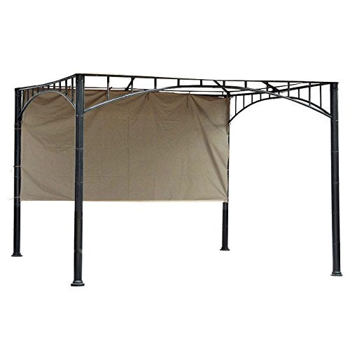 Universal Half Wall Sunshade for 3m x 3m Patio Gazebo