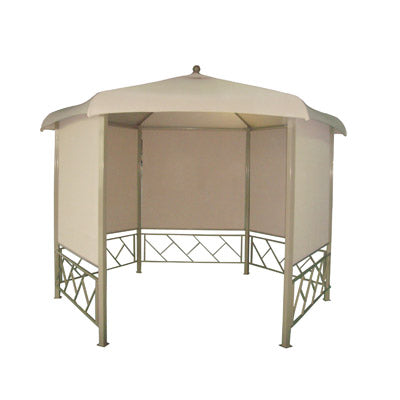 BHS Monza Roller Blind 3.3m Hexagonal Patio Gazebo Replacement Canopy 3772119