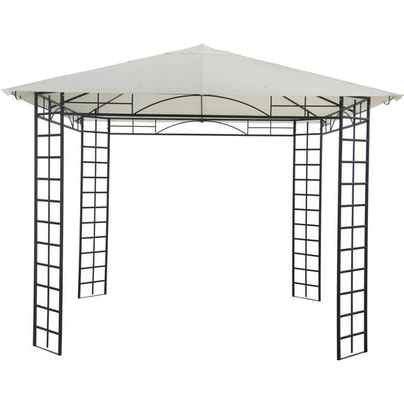 Homebase Marquee Steel Framed 3m x 3m Patio Gazebo Replacement Canopy 405331
