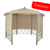 CLEARANCE - Canopy For 3.3m Hexagonal Patio Gazebo - Single Tier