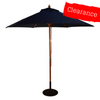 CLEARANCE - Canopy for 2.5m Round Parasol/Umbrella - 6 Spoke