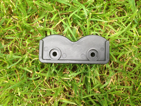 Crescent shaped joining hinge connector for garden and easy up pop up gazebos