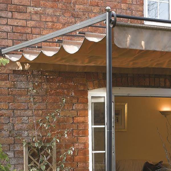 Canopy For 3 3m X 3m Retractable Patio Gazebo Wall