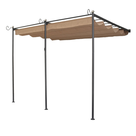 Rowlinson St. Tropez Retractable Wall Mounted Sun Canopy Replacement Canopy