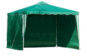 Side panel for garden pop up gazebo