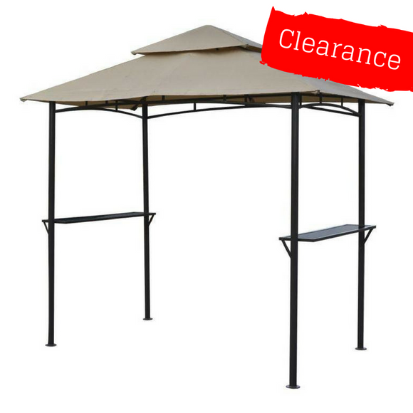 CLEARANCE - Canopy for 2.5m x 1.5m Patio Gazebo - Two Tier