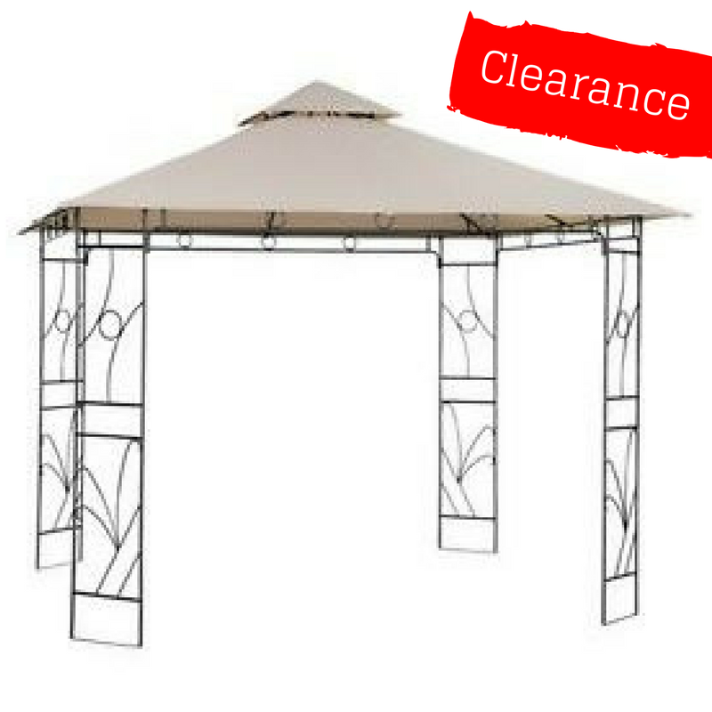 CLEARANCE - Canopy for 2.5m x 2.5m Patio Gazebo - Two Tier