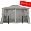 CLEARANCE - Canopy for 3.5m x 3.5m Patio Gazebo - Two Tier
