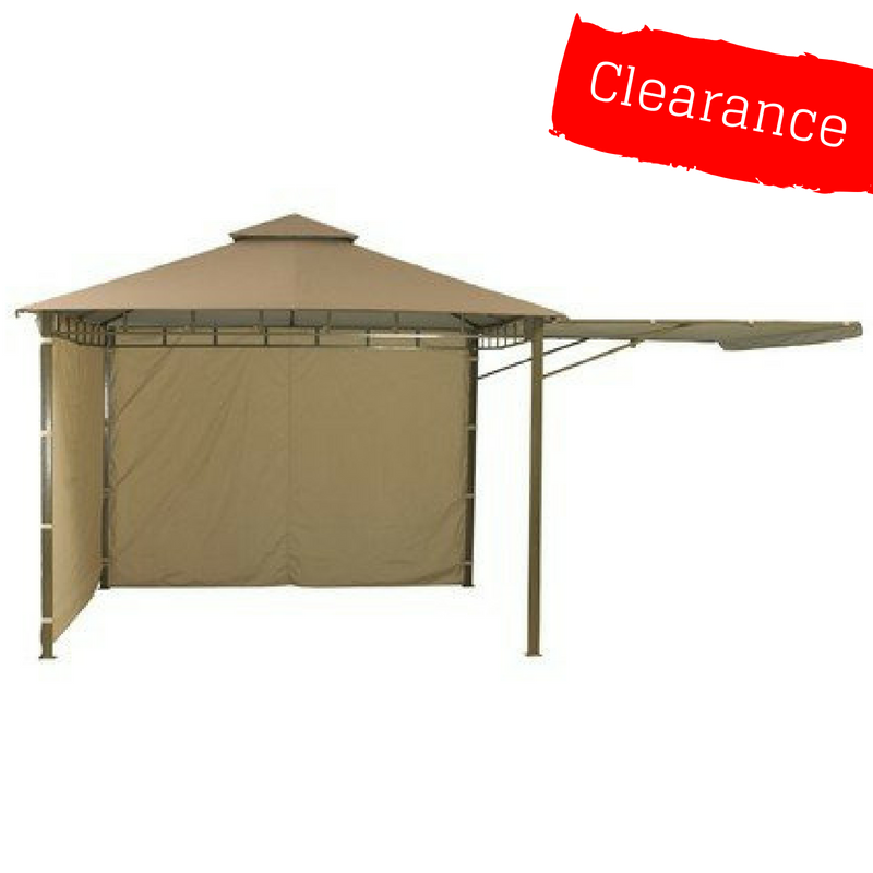 CLEARANCE - Canopy for 3m x 3m Extending Patio Gazebo (332cm Actual Width) - Two Tier - Main Section
