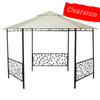 CLEARANCE - Canopy for 4m Hexagonal Patio Gazebo - Two Tier