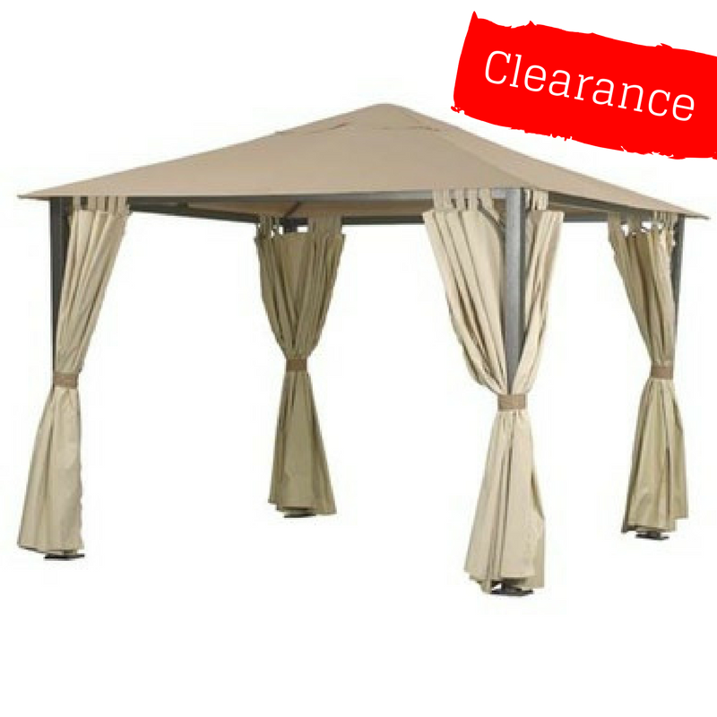 CLEARANCE - Side Panel Set for 3m Square Patio Gazebo -  Set of 4