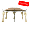 CLEARANCE - Canopy for 3m x 4m Patio Gazebo - Single Tier