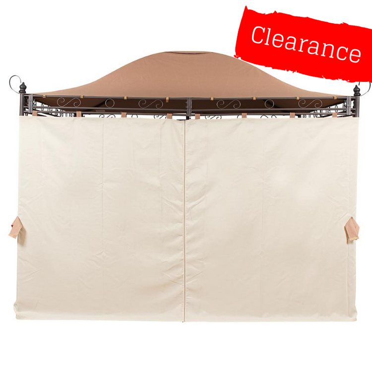 CLEARANCE - Side Panel Set for 3m x 3m Patio Gazebo - Set of 4
