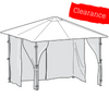 CLEARANCE - Universal Side Panel Set for 3m x 3m Patio Gazebo - Set of 4