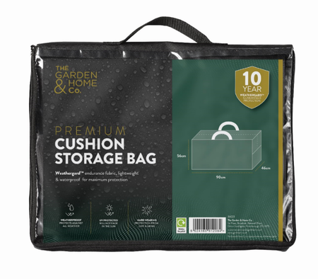 Premium Protective Cushion Storage Bag with Weathergard