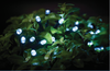 Outdoor LED Solar String Lights for Gazebo or Marquee White