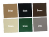 Gazebo Fabric Swatches All Colours