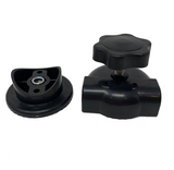Swing Seat Frame Screw Fixing Bracket in Plastic