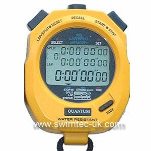Quantum 898 Stopwatch 100 memory yellow