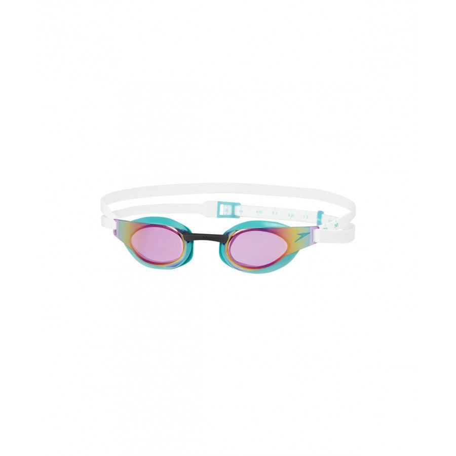 Speedo Fastskin Elite Mirror Goggles Jade/Purple