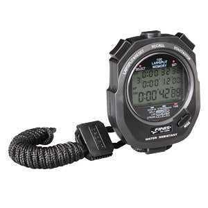 Finis 3x100 memory stopwatch black
