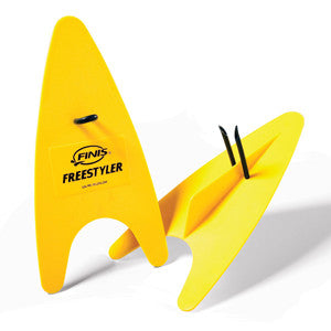 Finis freestyler paddles yellow senior junior