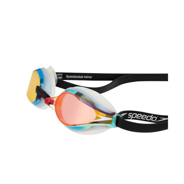 Speedo Fastskin Speedsocket2 Racing Goggles White/Mirror