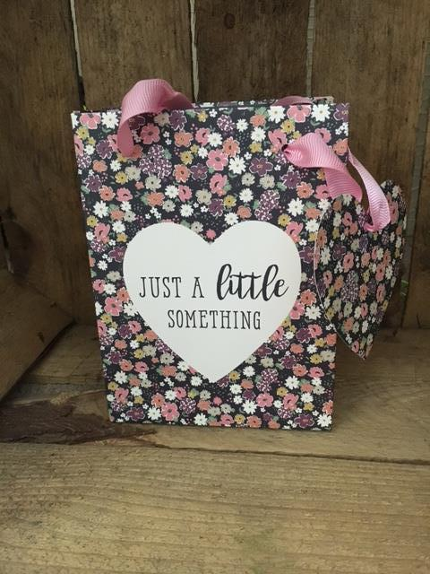 Just a little something small gift bag