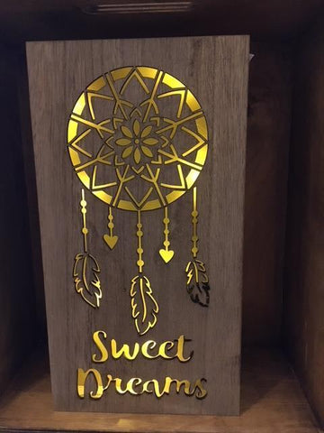 Sweet Dreams LED sign