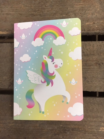 Unicorn pocket notebook