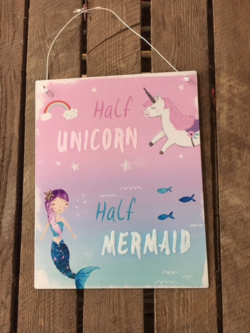 Half Unicorn/ Half Mermaid picture