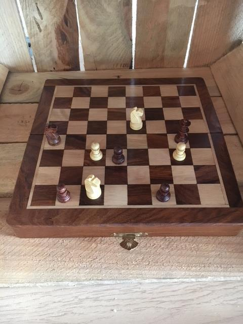 Chess & Backgammon Set