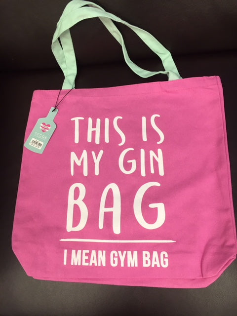 Gin/Gym tote bag