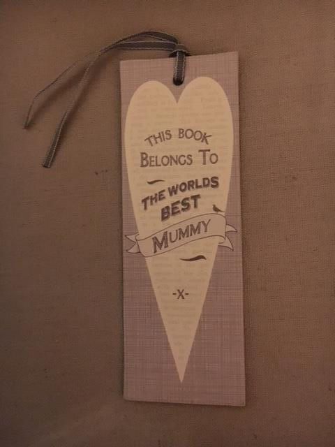 This book belongs to the best Mommy Book mark