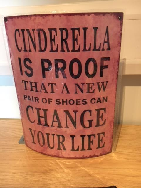 Cinderella is proof sign