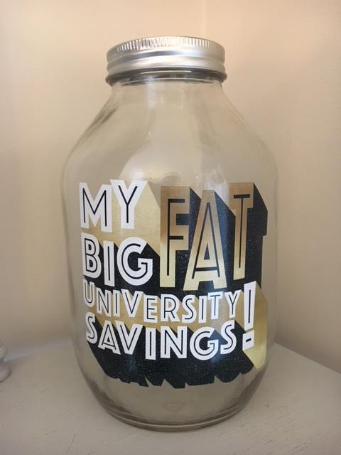My big fat university savings!!