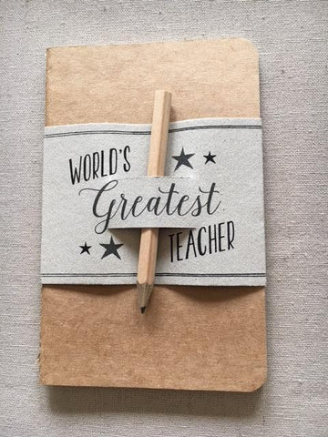 Teacher Pencil & Pad