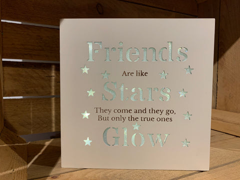 Friends light up picture frame