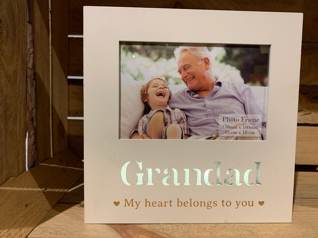 Grandad light up picture frame