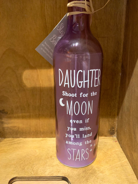 Daughter LED bottle