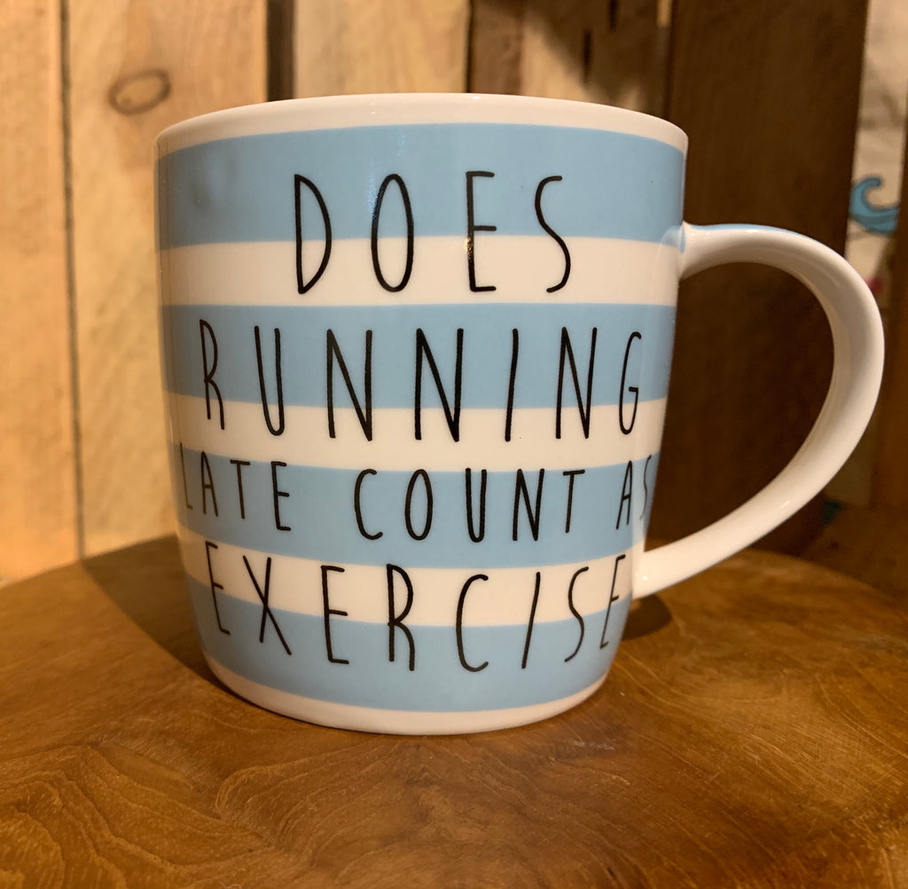 Does running late mug