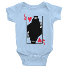 Queen Of Hearts Arabic Baby Onesie