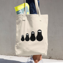 Russian Dolls Arabic Tote Bag