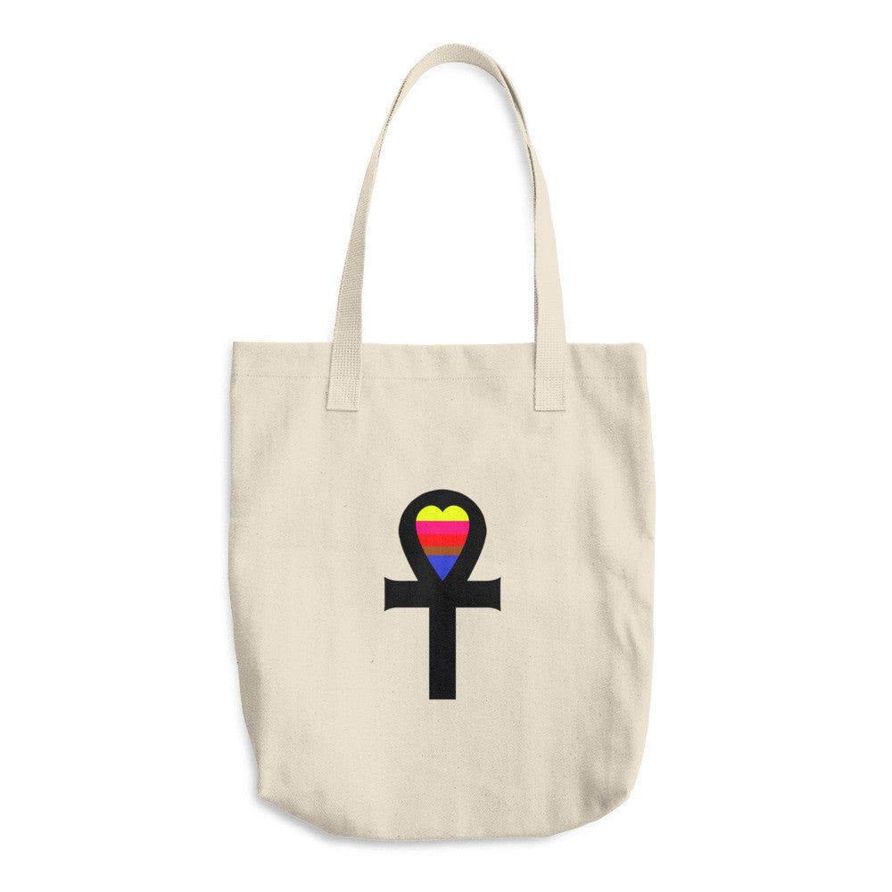 Ankh Amoon Arabic Tote Bag