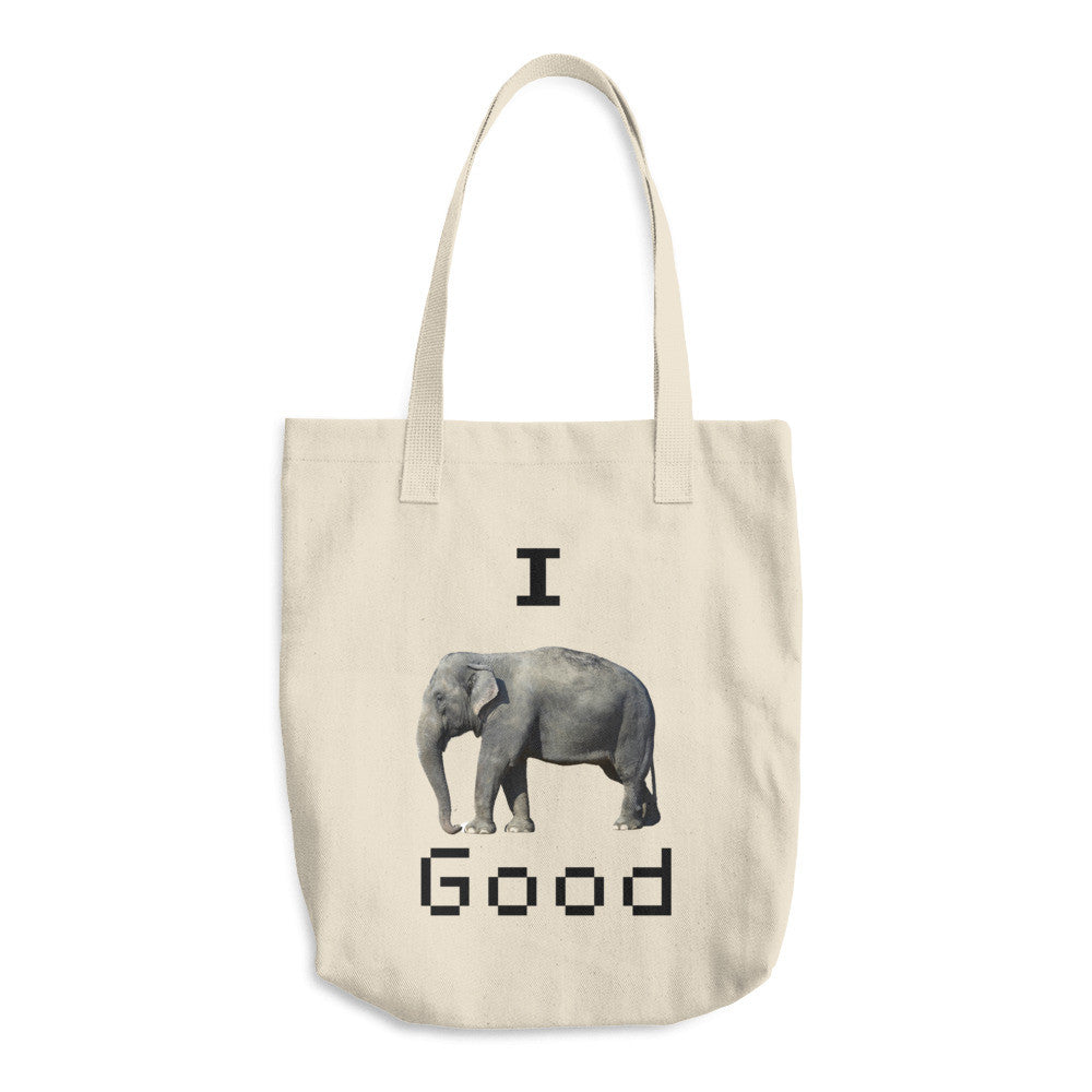 I Feel Good Arabic Tote Bag