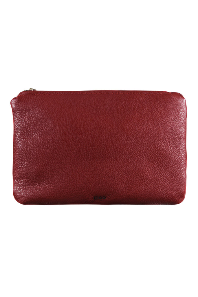 Sleek Clutch Red