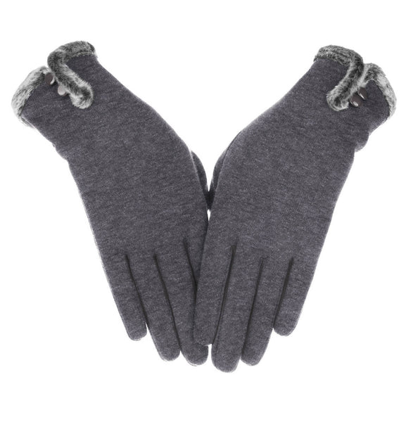 Knolee Women's Screen Gloves Warm Lined Thick Touch Warmer Winter Gloves